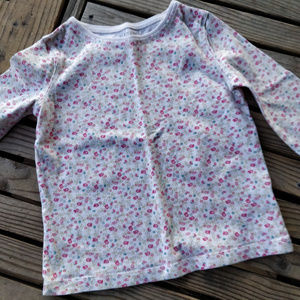 Girls 6 Sonoma long sleeve cute floral mod print